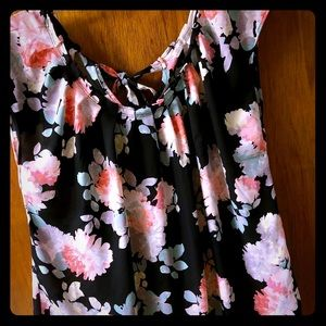 Women's size large silky blouse.